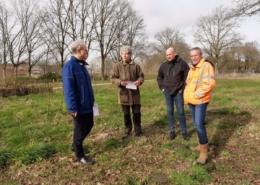 groenbeheerders veldbezoek ecologisch advies Peter de Groot Biodivers Odewater